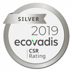 Ecovadis CSR Rating 2019