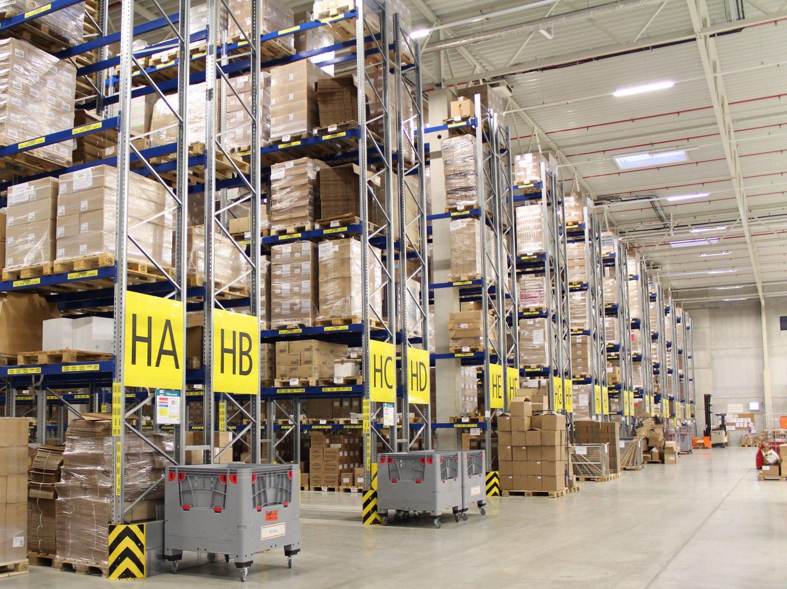Logistikstandort Alzenau, Innenansicht 1