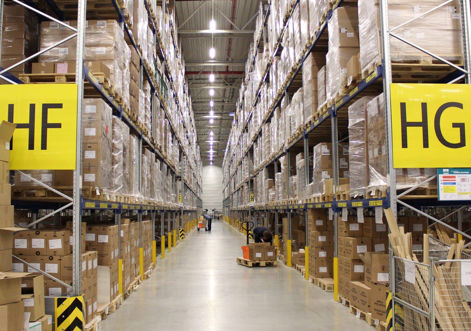 Logistikstandort Alzenau, Innenansicht 3