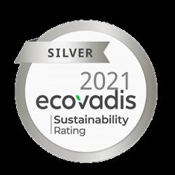 ecovadis Silbermedaille 2021