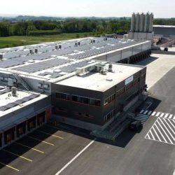 Gebäude von oben trans-o-flex Standort Hamm